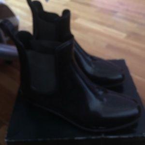 Green Ralph Lauren rain boots